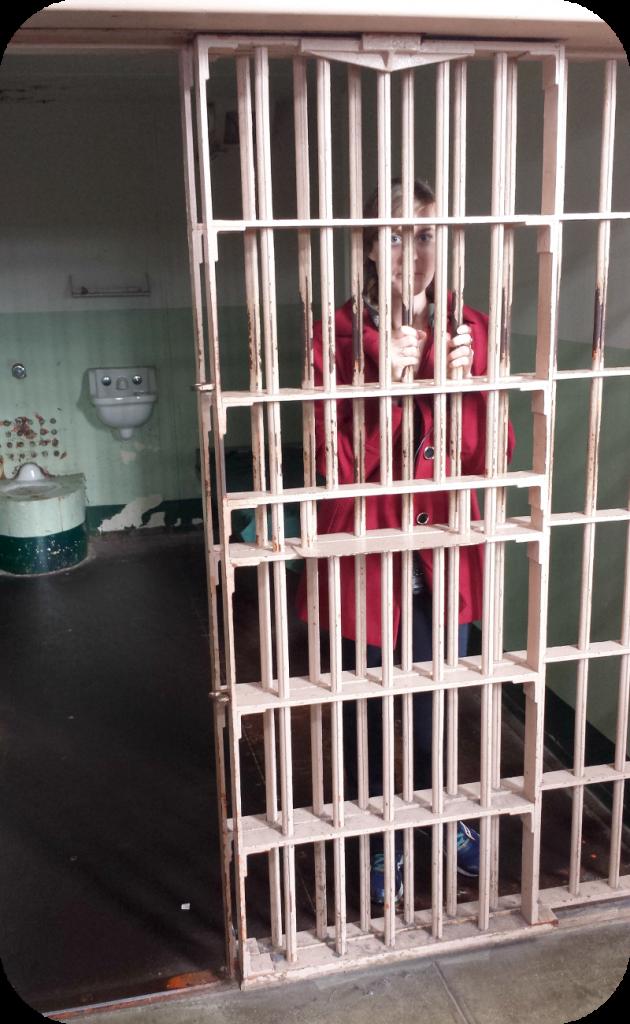 Me in Alcatraz Prison